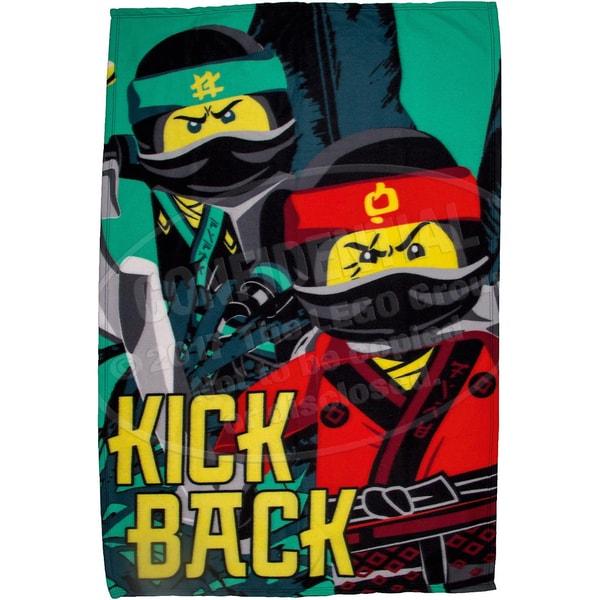 Character World Kuscheldecke LEGO Ninjago Movie 100x150 cm