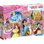 Clementoni Bodenpuzzle 40 Teile Disney Princess