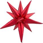 Funny Fashion Folienballon Stern rot groß