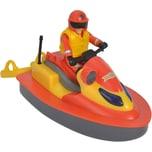 Simba Feuerwehrmann Sam Juno jet Ski mit Figur