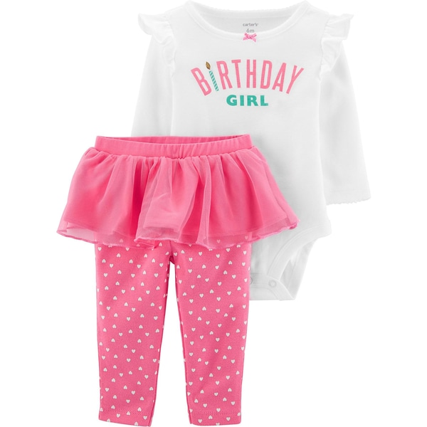 carter`s Baby Set Body Leggings mit Tüll für Mädchen