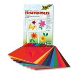 Folia Fensterfolien 10 Bogen farbig sortiert