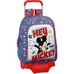 safta Rucksack mit Trolley Mickey Mouse Hey Mickey!