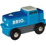 BRIO Blaue Batterie Frachtlok
