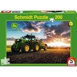 Schmidt Spiele John Deere Traktor 6150R mit Güllefass 200 Teile