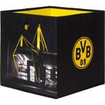 Borussia Dortmund Faltbox BVB Signal Iduna Park 3-tlg. schwarzgelb 32 x 32 cm