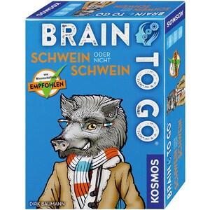 Kosmos Brain to go Schwein oder nicht Schwein