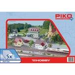 Piko Spur H0 Dorf-Set 5tlg.
