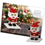 Glückwunschkarte BRIXIES Santa Claus