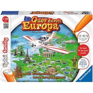Ravensburger tiptoi® Quer durch Europa ohne Stift