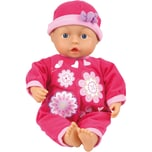 Bayer Babypuppe My First Baby 33 cm pink mit 24 sounds