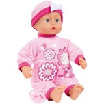 Bayer Babypuppe My First Baby 38 cm rosa mit 24 sounds