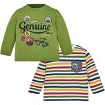 Mayoral Baby Langarmshirt Doppelpack für Jungen