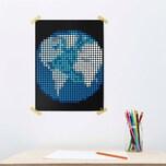 dot on art space - erde 30 x 40 cm