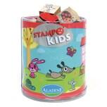 Aladine STAMPO'KIDS Mini-Stempelset Lieblingstiere 16-tlg.