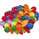 Riethmüller Luftballons diverse Formen und Farben 100 Stück