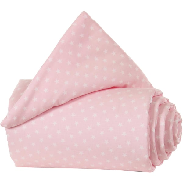 Tobi Gitterschutz Organic Cotton Für Verschlussgitter Alle Babybay Modelle Rose Sterne Weiß