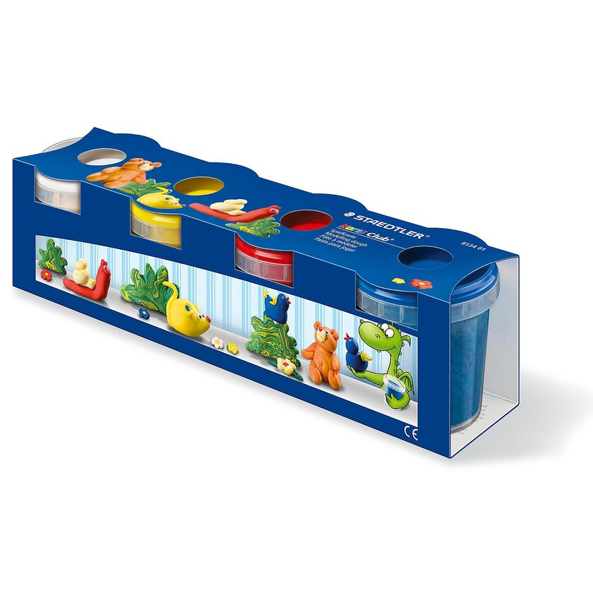 Staedtler NORIS Club Spielknete extra weich 4 Basisfarben