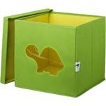 Store It! Aufbewahrungsbox Schildkröte mit Sichtfenster grün