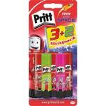Pritt Klebestifte Neon 3x11g+2x10g