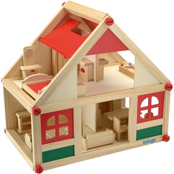 Beluga Puppenhaus Mit Möbeln