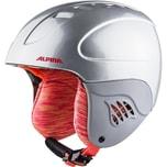 Alpina Skihelm Carat silver-flamingo 51-55