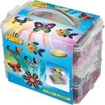 Hama Perlen 6751 Bügelperlen-Sortierbox mit 12.000 midi-Perlen & Zubehör