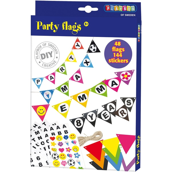 Playbox Bastelset Party-Wimpelkette