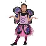 Funny Fashion Kostüm Schmetterling pink