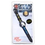 JOY TOY Star Wars Uhr mit austauschbaren Motiven