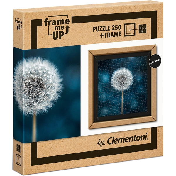 Clementoni Puzzle 250 Teile Frame Me Up Pusteblume