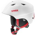 uvex Skihelm Airwing 2 pro white-red mat