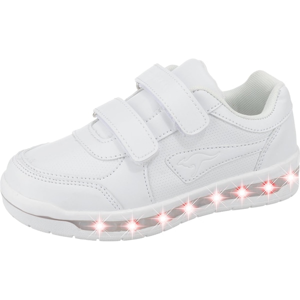 Kangaroos Kinder Sneakers Low Jeyled V Sl Blinkies Mit Led-Sohle