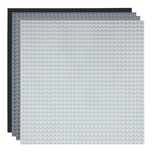 Basisplatte 32x32 Vier Grau Farben