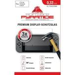Ak tronic Schutzglas für Nintendo Switch