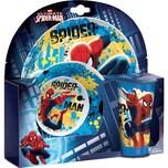 Kindergeschirr Spider-Man 3-tlg.