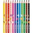 Pelikan Dickkern-Buntstifte Combino Dreiecksform 12 Farben