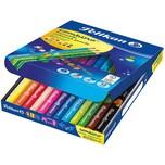 Pelikan Dicke Buntstifte COMBINO Dreikant 12 Farben