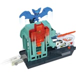 Mattel Hot Wheels City Set Bat-Blitz Krankenhausangriff
