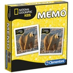 Clementoni Memo Game - National Geographic