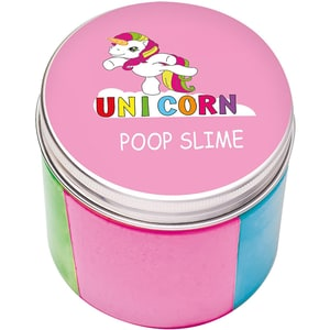 Putty Fluffy Poop Slime Einhorn 200 G