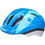 KED Helmsysteme Fahrradhelm Meggy II blue stars