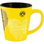 Borussia Dortmund Tasse Borussia Dortmund mit Herz 300 ml