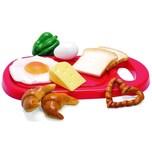 Spielgeschirr Frühstücksplatte