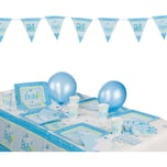 Amscan Partyset Welcome Little One Boy 53-tlg.