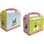 dh konzept Geschenkboxen Der kleine Rabe Socke 6 Stück