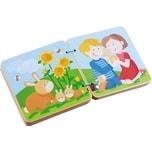 Haba Holz-Babybuch Tierkinder