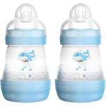 MAM Babyflasche Easy Start Anti-Colic 2 x 160 ml boy blau