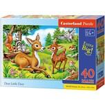 Castorland Puzzle 40 Teile maxi Das kleine Reh