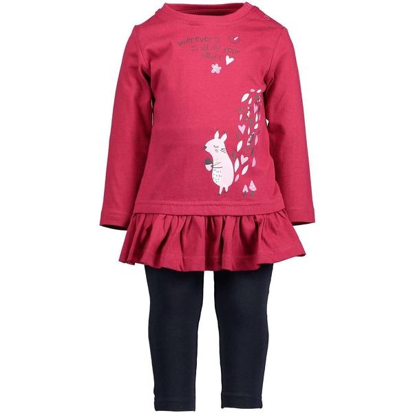 Blue Seven Baby Set Langarmshirt Leggings für Mädchen